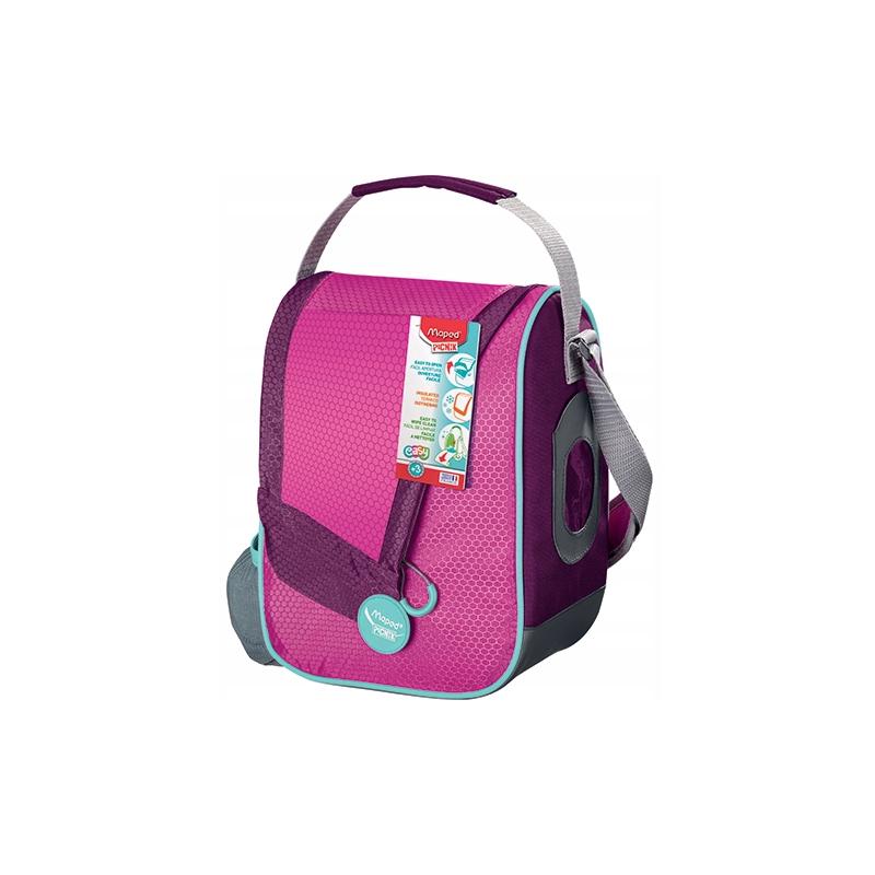 Torba termiczna śniadaniowa Maped Picnik Concept różowa dla dziewczynki