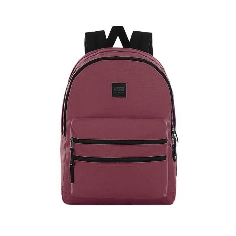 różne kolory wybór premium sprzedaż uk Plecak VANS szkolny SCHOOLIN IT PRUNE bordowy 3-komorowy