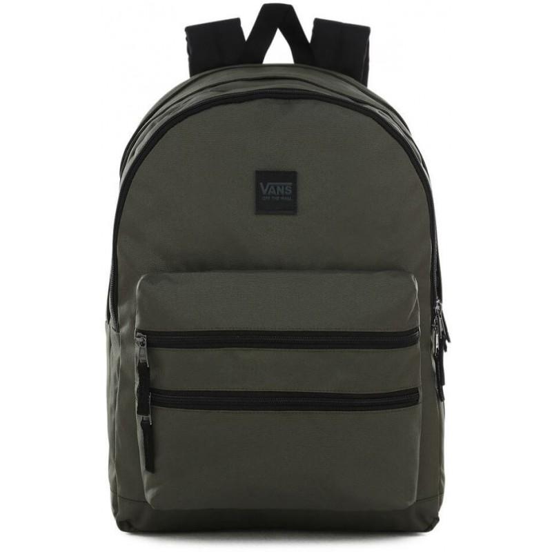 nowe promocje niesamowity wybór oficjalny dostawca Plecak VANS szkolny SCHOOLIN IT GRAPE LEAF oliwkowy trzykomorowy