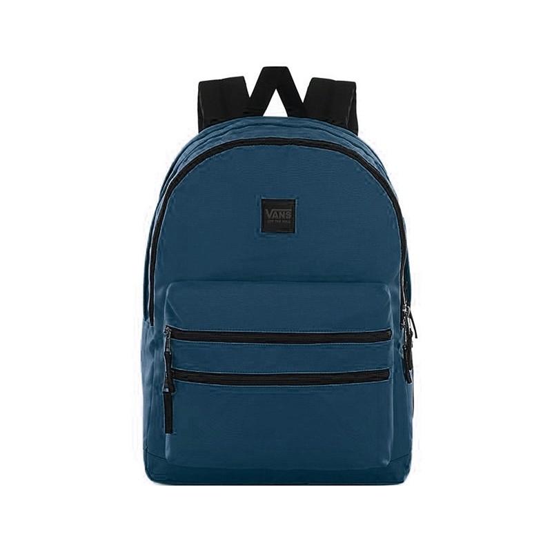 Plecak VANS szkolny SCHOOLIN IT GIBRALTAR SEA niebieski 3 komorowy