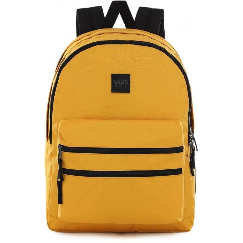 Plecak VANS szkolny SCHOOLIN IT MANGO MOJITO musztardowy trzykomorowy