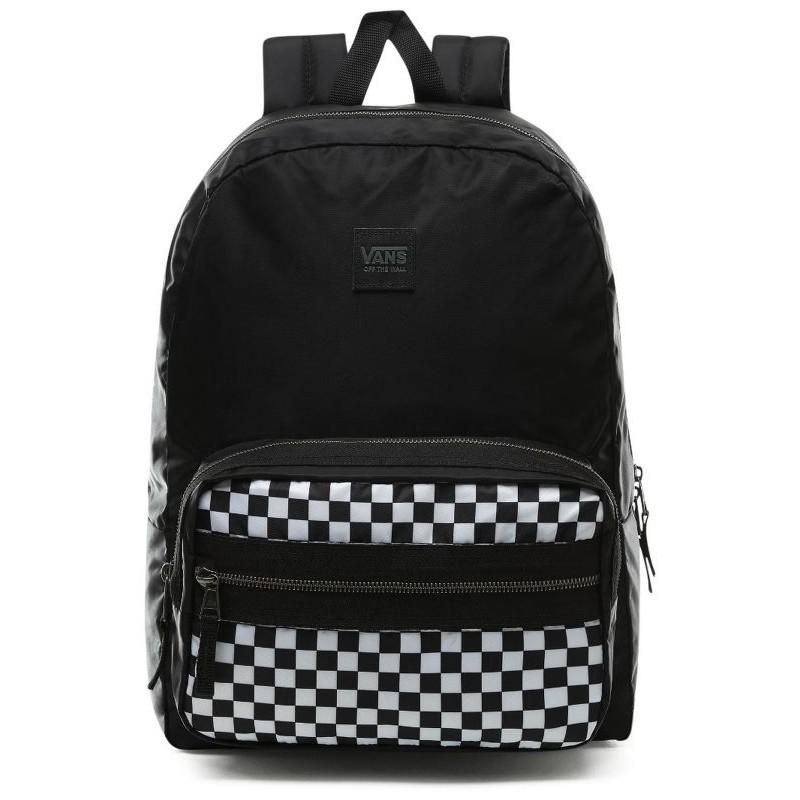 100% wysokiej jakości buty temperamentu Najlepsze miejsce Plecak VANS DISTINCTION II BLACK WHITE CHECKERBOARD szachownica