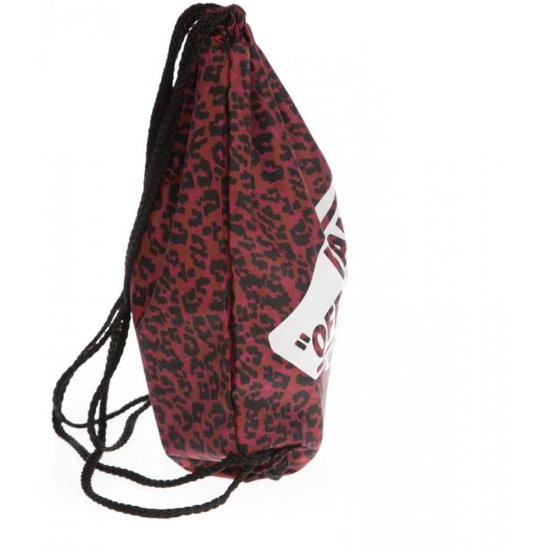 Worek Vans Benched Bag Cerise w panterkę worek na plecy