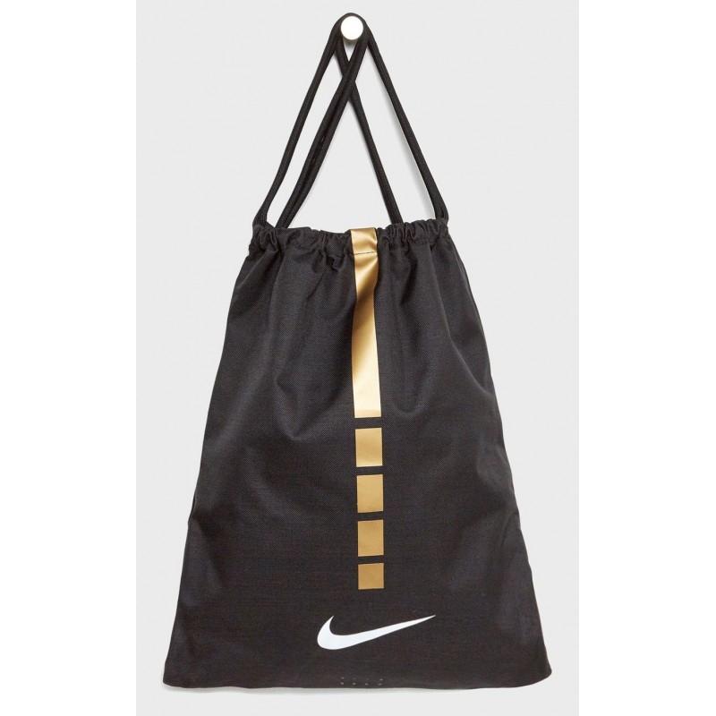 informacje o wersji na ogromny wybór buty jesienne Worek sportowy na plecy NIKE Hoops Elite CZARNY GOLD