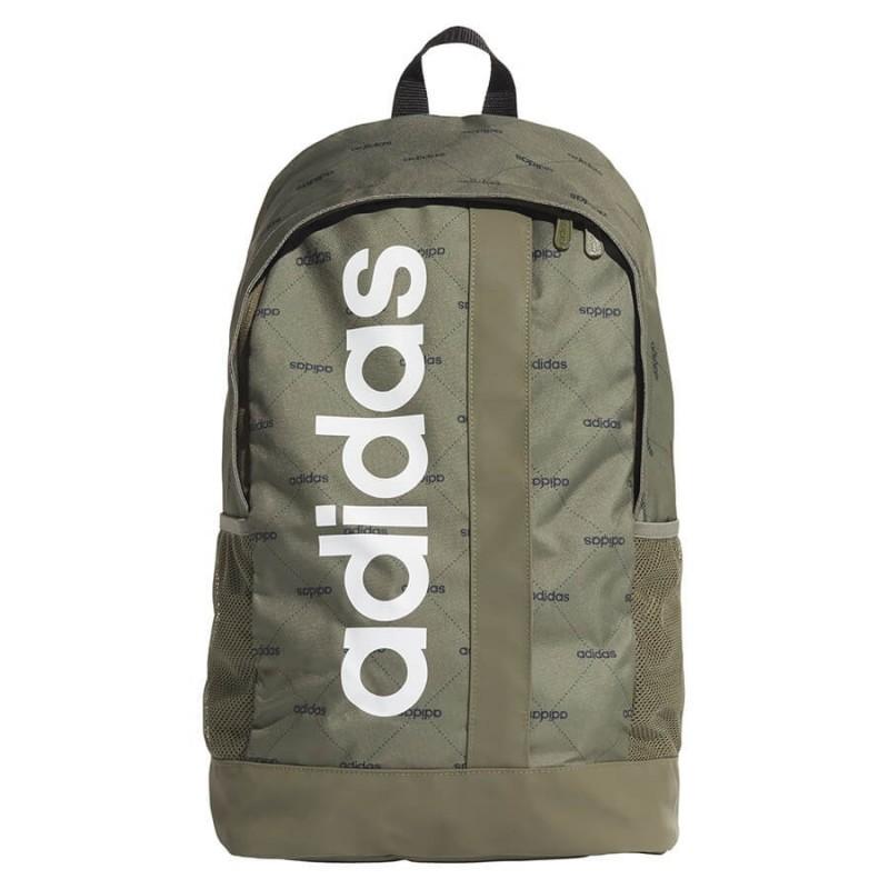 Tiranía Interminable becerro  Zielony plecak ADIDAS KHAKI do szkoły na trening w logo lekki