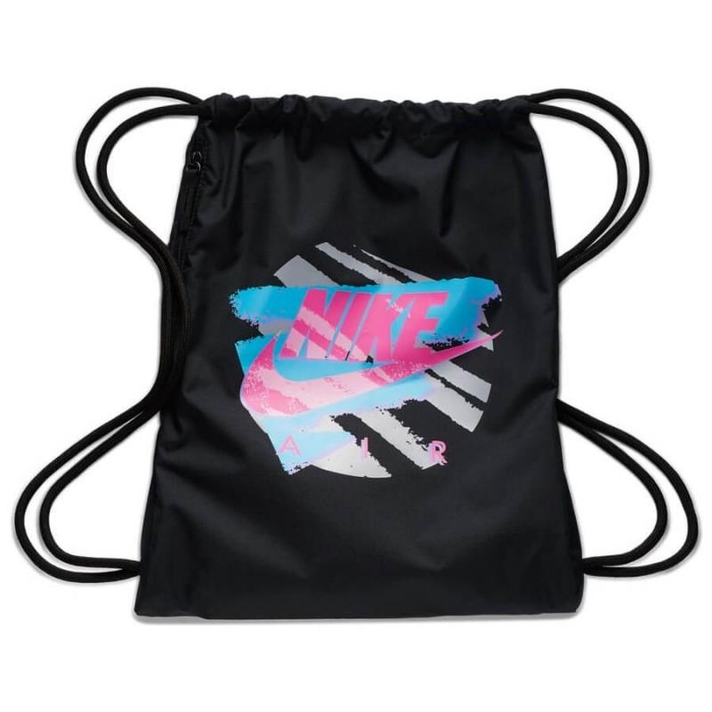 najwyższa jakość sprzedawane na całym świecie oficjalny dostawca Worek sportowy NIKE HERITAGE 2.0 CZARNY / plecak na sznurkach kolorowe logo