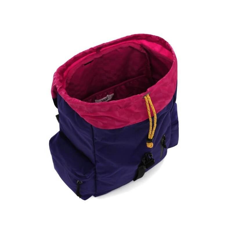 Plecak Vans fioletowy vintage Ranger Plus Violet Indigo z klapą