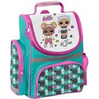 Tornister L.O.L. Surprise szkolny z laleczkami LOL brokatowy dla dziewczynki