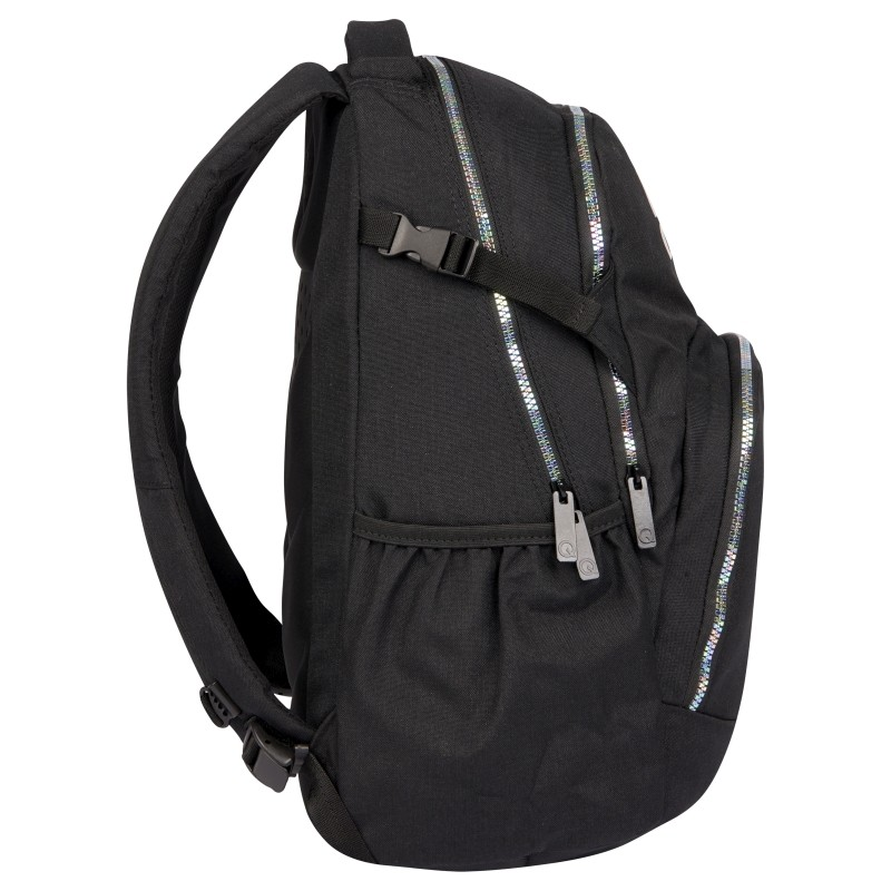 Plecak 2 komorowy w trójkaty CoolPack Vigo CZARNY dla