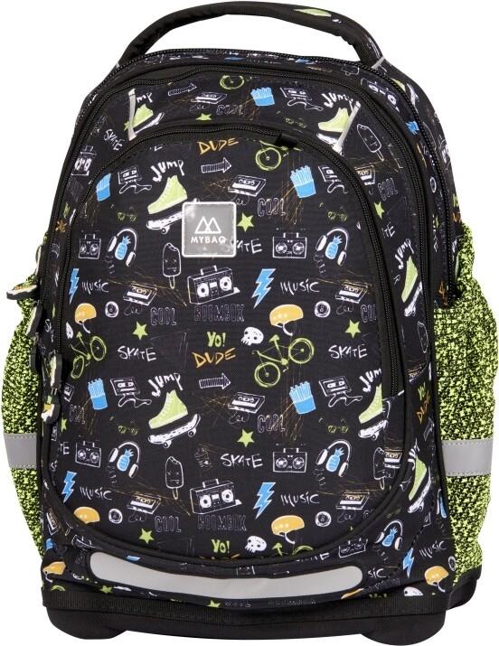 Plecak szkolny usztywniany dla chłopca MyBaq SKATE ze
