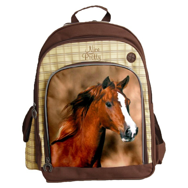 Plecak Szkolny z Koniem