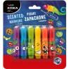 Pisaki zapachowe dla dzieci 6 kolorów OWOCE KIDEA