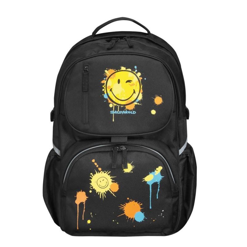 77f08c8e638e1 Plecak be bag cube wyprofilowany SMILEY WORLD - ePlecaki do szkoły i ...
