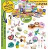 """Zestaw kreatywny dla dzieci ASTRA nr 1 """"Kreatywne chwile"""" 13 elementów"""