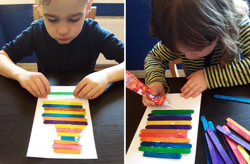 Pomysł na prace plastyczne dla dziecka
