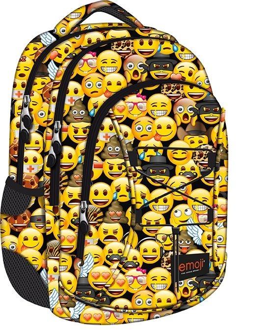 plecak emoji, plecak z emotkami, modny plecak