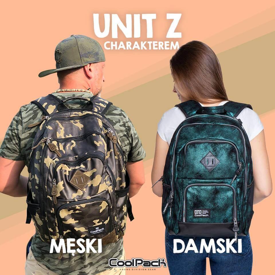 f59220574374f Plecak męski i plecak damski CoolPack Unit - modny plecak na laptopa dla  licealisty