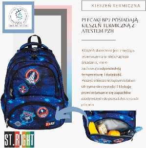 Plecak ST.RIGHT roku 2019