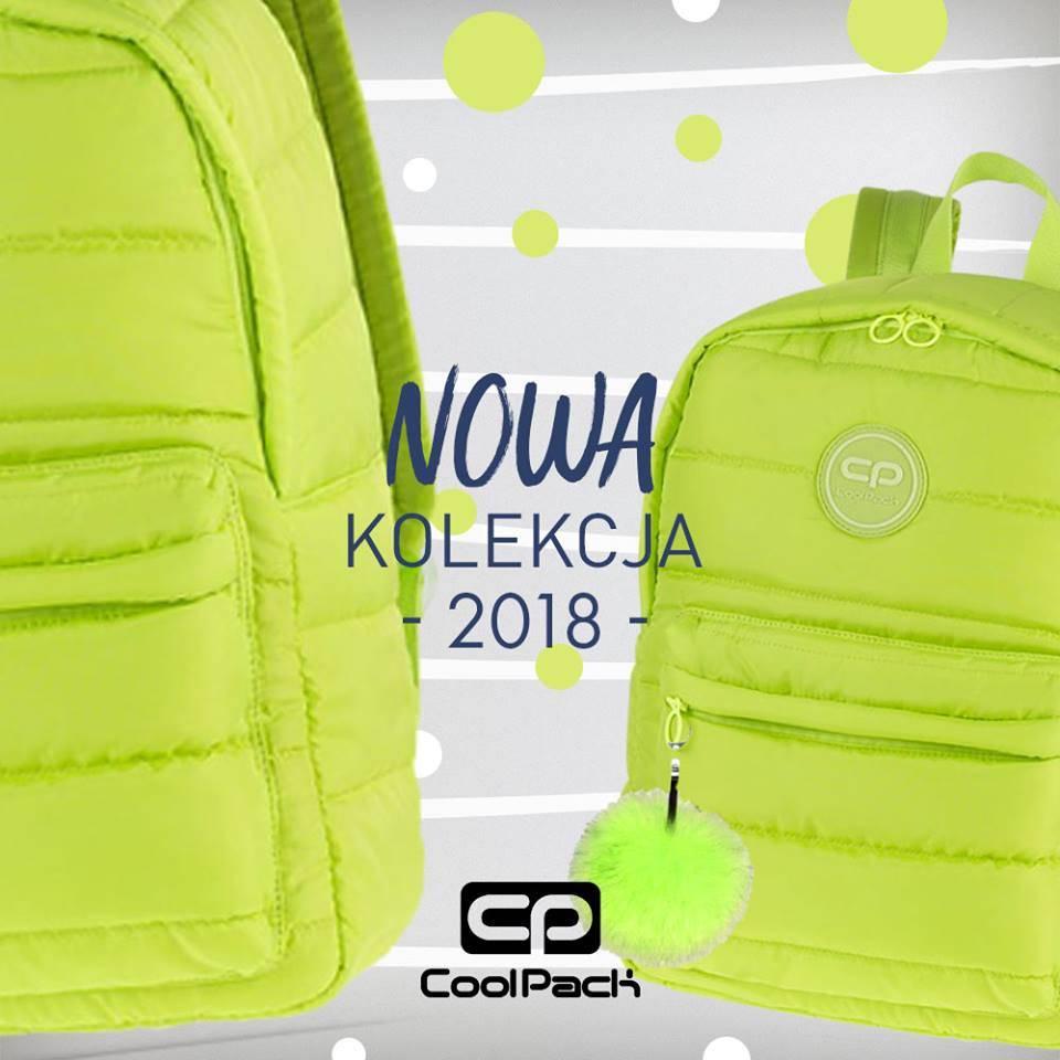 03b9f2718d114 Sprawdź CoolPack 2018 - nowa kolekcja plecaków i akcesoriów do szkoły z  logiem CP.