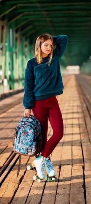 Markowy plecak do 8 klasy