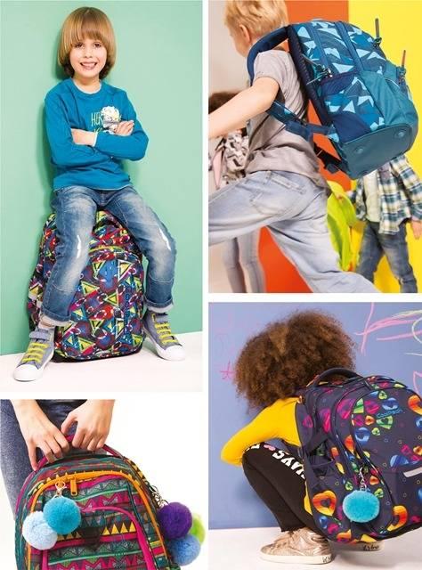 Modne plecaki szkolne i młodzieżowe w wielu kolorach