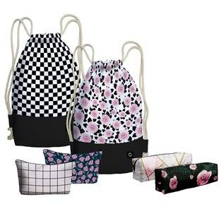 Modne plecaki na sznurkach dla młodzieży - modne plecaki na miasto i na wycieczkę