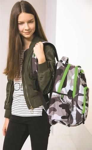 Plecaki do 7 klasy dla dziewczyny i chłopaka! Co modne? Może plecaki moro!