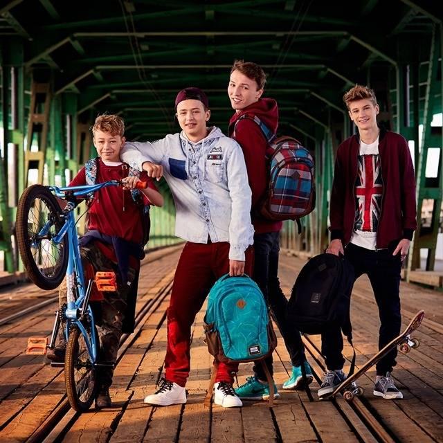 Plecak do szkoły dla chłopca - nowoczesny plecak dla nastolatka - najmodniejsze plecaki