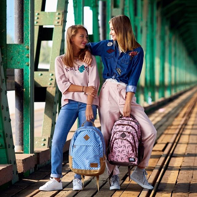 Plecak dla dziewczyny - plecak dla nastolatki - najmodniejsze plecaki do szkoły i nie tylko