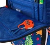 Plecak z systemem świecącym do szkoły