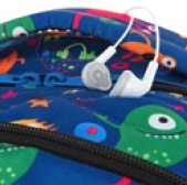 Plecak szkolny z wyjściem na słuchawki do 1 klasy LEDPACK
