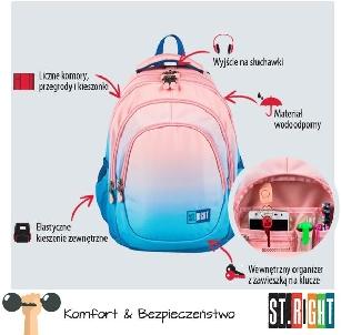 Plecak ST.RIGHT BP06