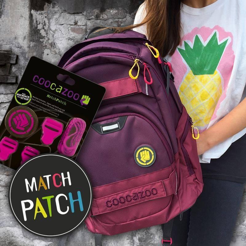 elementy do zmiany wyglądu plecaków Coocazoo Match Patch