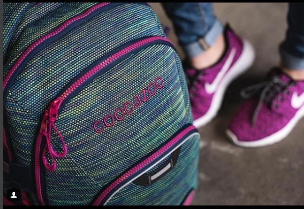 Plecaki Coocazoo młodzieżowe Wildberry Knit