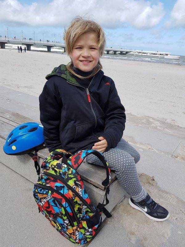 #backtoschool plecak dla chłopca skatepark st.right