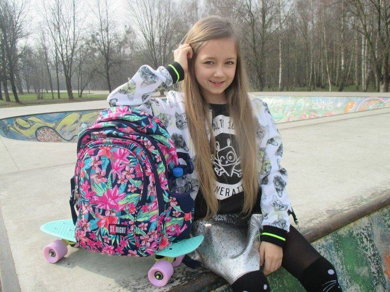 #backtoschool plecak szkolny dla dziewczyny