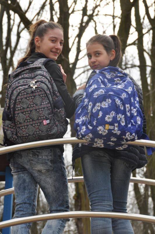 #backtoschool w azteckim stylu, plecak do szkoły stylizacja dla nastolatek