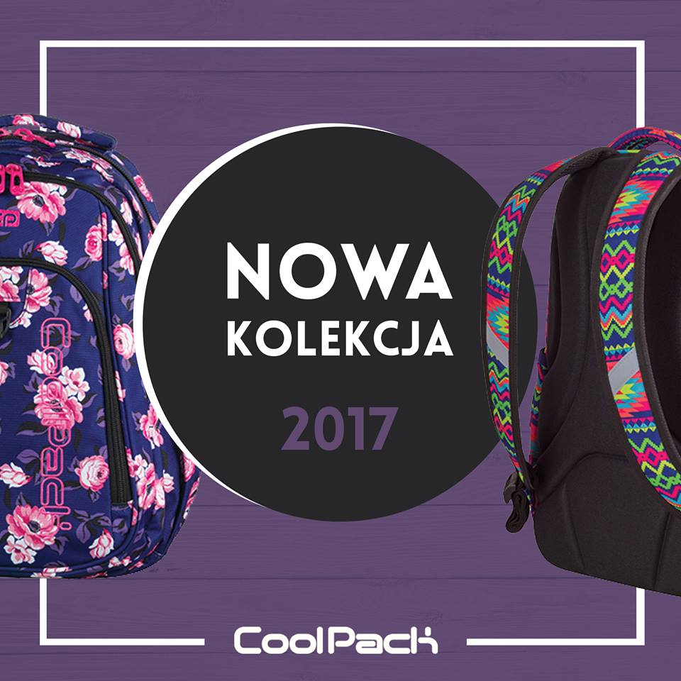a187e7c5d2b92 Coolpack - kolekcja 2017 - ePlecaki do szkoły i na wakacje